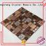 resin metallic cold OEM glass mosaic tile Hengsheng