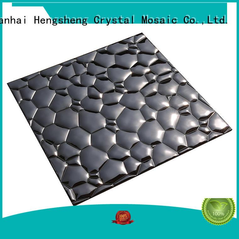 wall metal mosaic design for living room Heng Xing