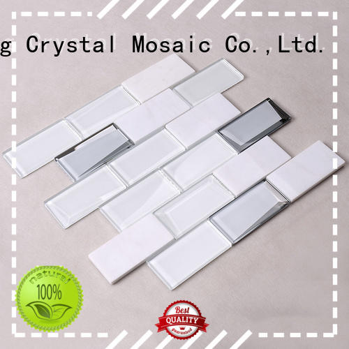 Wholesale engraved swimming pool mosaics marble Hengsheng Brand