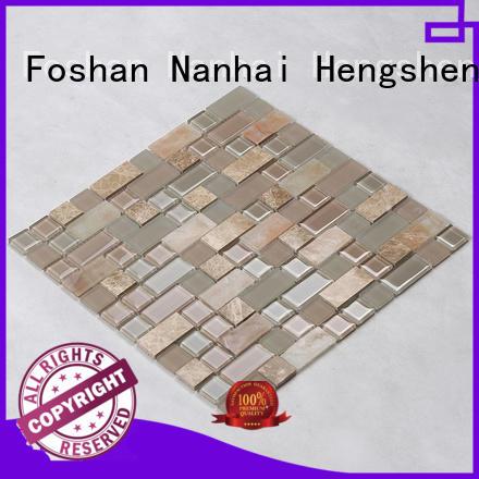 Heng Xing 3x4 herringbone tile wholesale for living room
