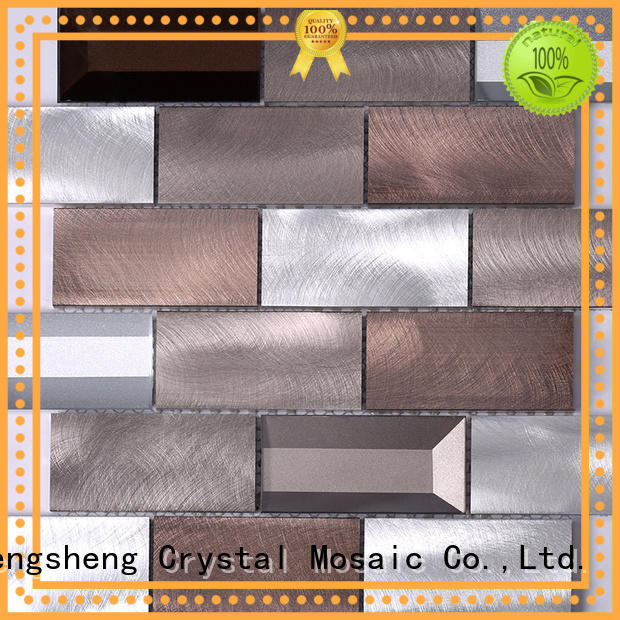 metallic kitchen tiles bedroom for hotel Heng Xing