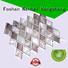 metallic kitchen wall tiles backsplash metal mosaic indoor company