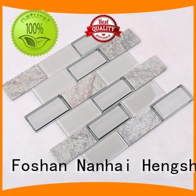 Wholesale pattern swimming pool mosaics Hengsheng Brand