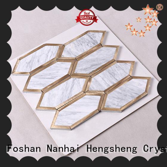 Heng Xing grey carrara hexagon tile inquire now for hotel