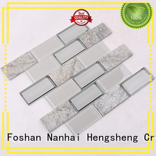 tile glass pool tile 2x2 Hengsheng