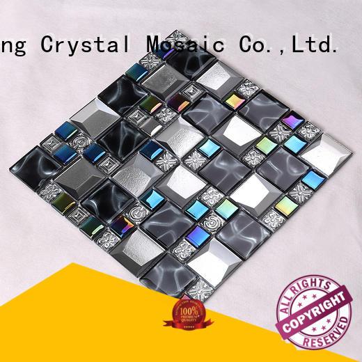 Heng Xing grey herringbone backsplash supplier for villa