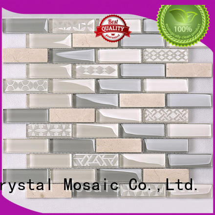Heng Xing beveling red glass tile wholesale for hotel