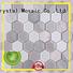 Heng Xing splash glass metal tile supplier for bathroom