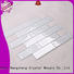 mosaic Custom tile glass mosaic tile herringbone Heng Xing