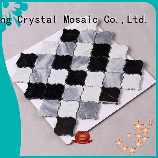 Wholesale grey stone mosaic Hengsheng Brand