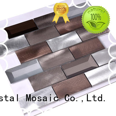 Copper gold golden backsplash metallic kitchen wall tiles