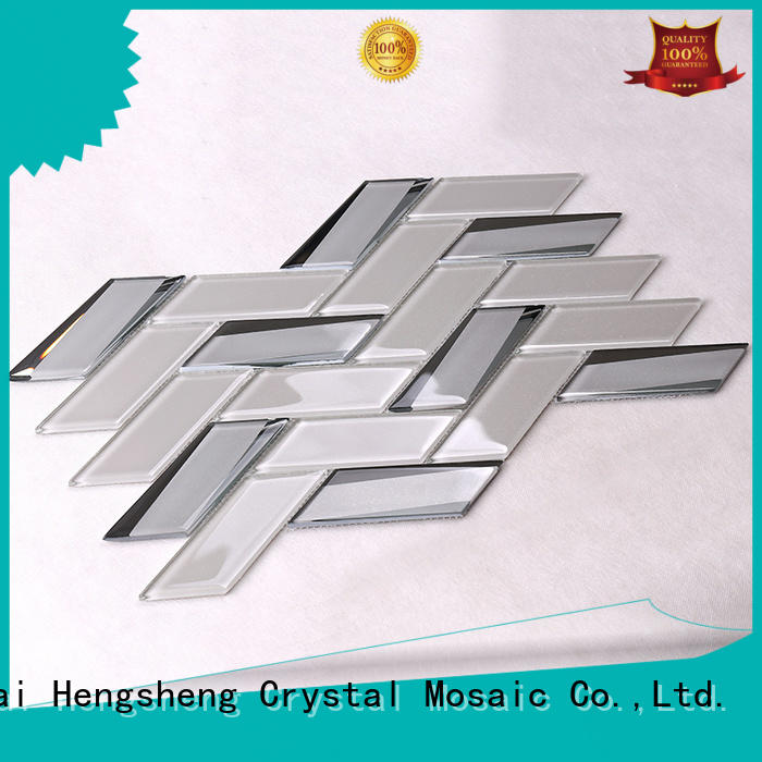 glass tiles for kitchen super spray 3x3 Heng Xing Brand company