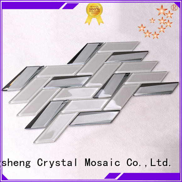 mix glass wall tiles for kitchen manufacturer for villa Heng Xing