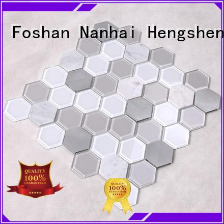 swimming pool mosaics 2x2 pool tile Hengsheng Brand