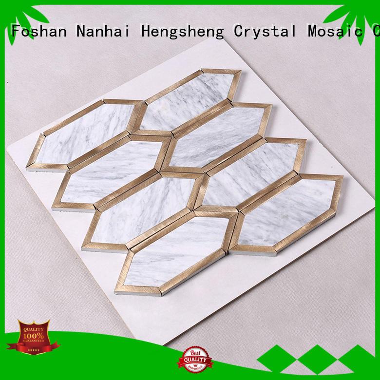 stone tile backsplash stone Hengsheng Brand stone mosaic
