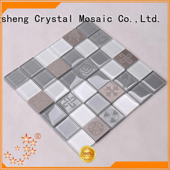 subway tile kitchen backsplash electroplated for kitchen Heng Xing