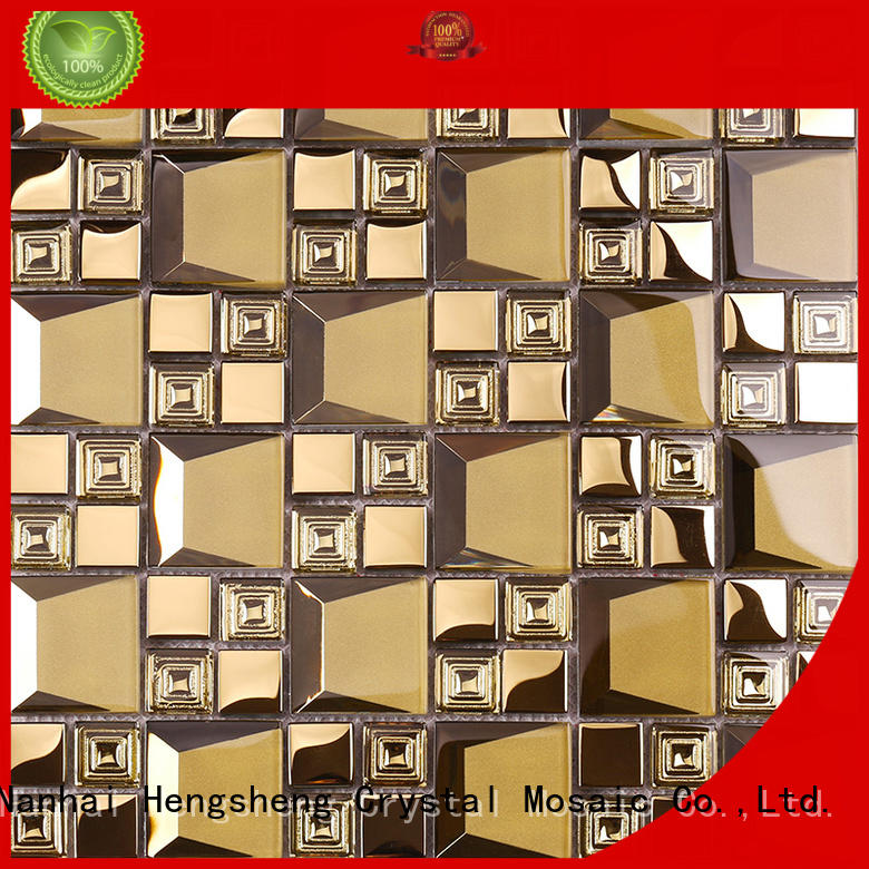 Heng Xing High-quality glass brick tiles supplier for kitchen