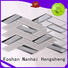 Heng Xing beveled clear glass tiles decor for living room