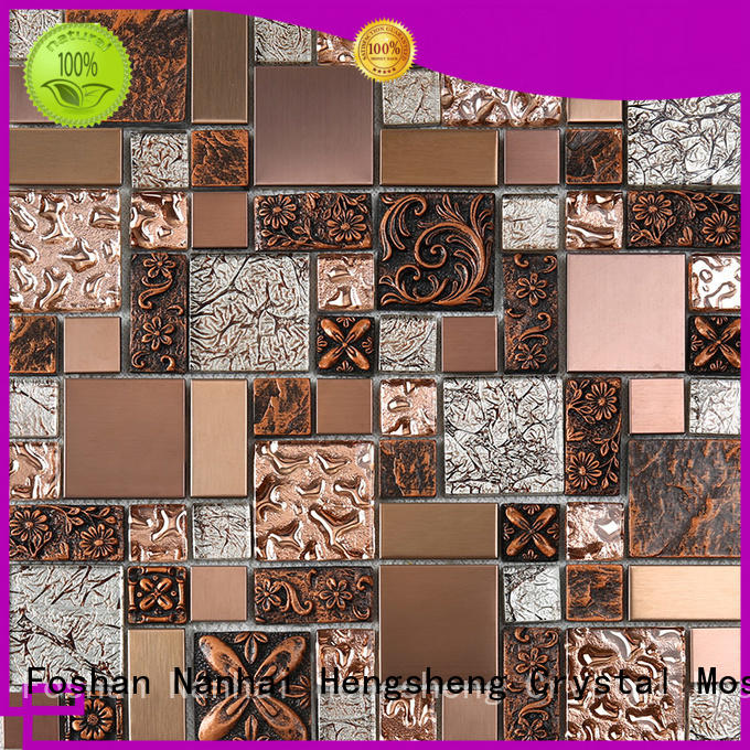 Heng Xing hdt04 mosaic tile sheets supplier for living room