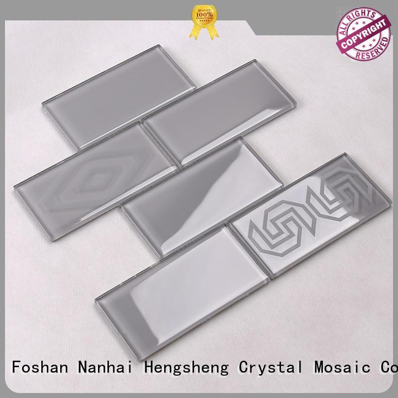 Wholesale tile glass mosaic tile Heng Xing Brand