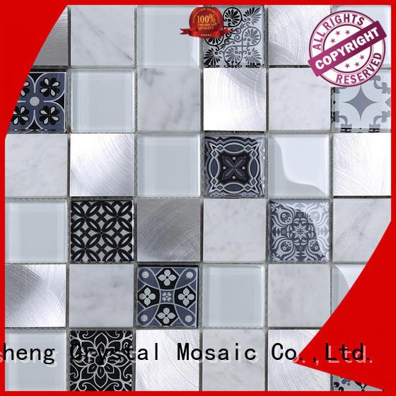 3x4 herringbone tile personalized for bathroom
