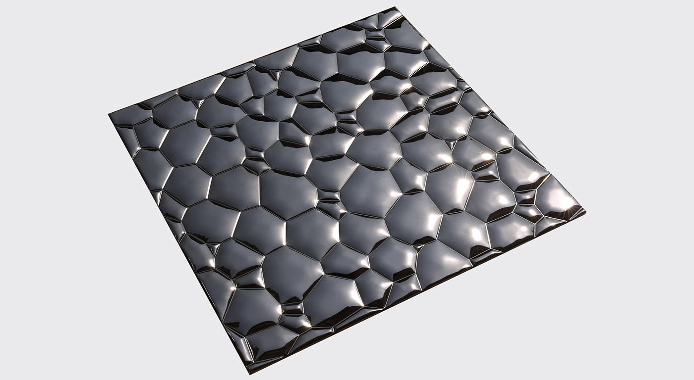 Heng Xing-Stainless Steel Backsplash Tiles Aluminum Mosaic Tile - Hengsheng