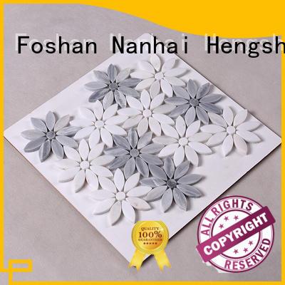 Hengsheng Brand carrara stone tile backsplash golden supplier