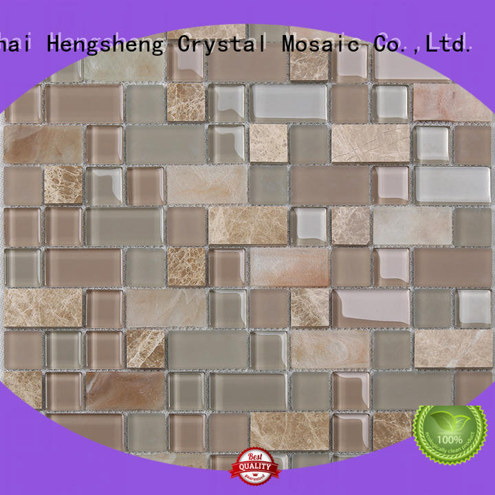 High-quality mosaic sheets tans personalized for living room