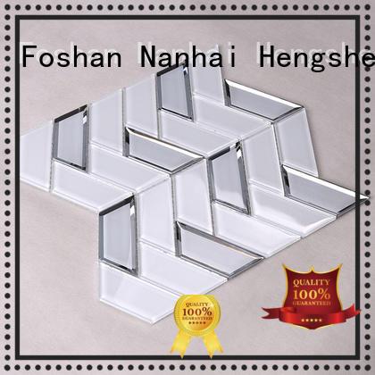 Heng Xing beveled inkjet tile for kitchen