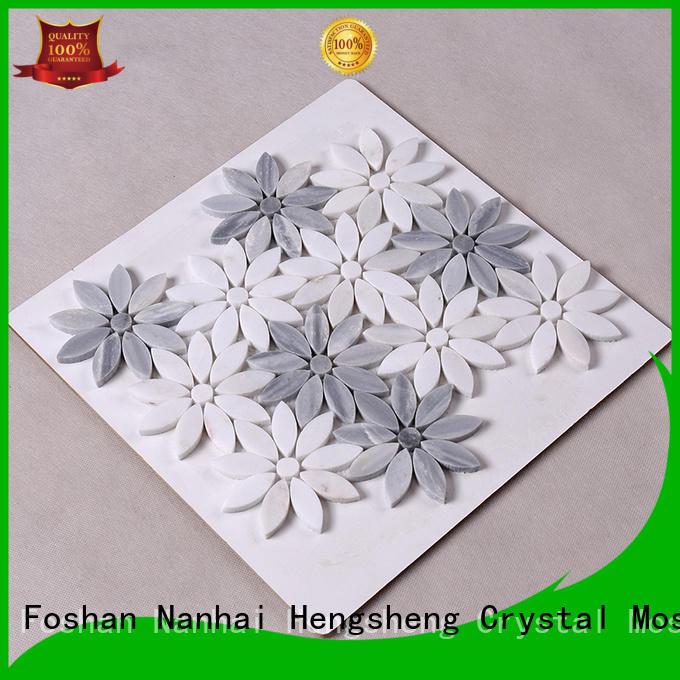 Heng Xing tile carrara mosaic tile design for kitchen