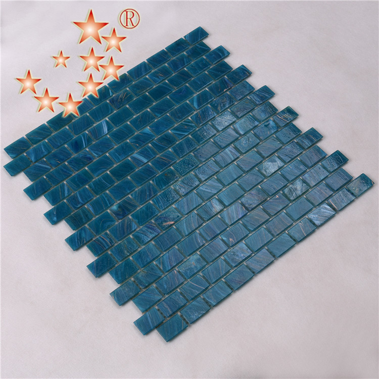 Heng Xing-Manufacturer Of Blue Green Glass Tile Swimming Pool Mosaic Tile-1