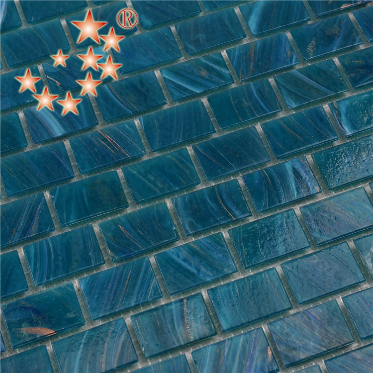 Heng Xing-Manufacturer Of Blue Green Glass Tile Swimming Pool Mosaic Tile-2
