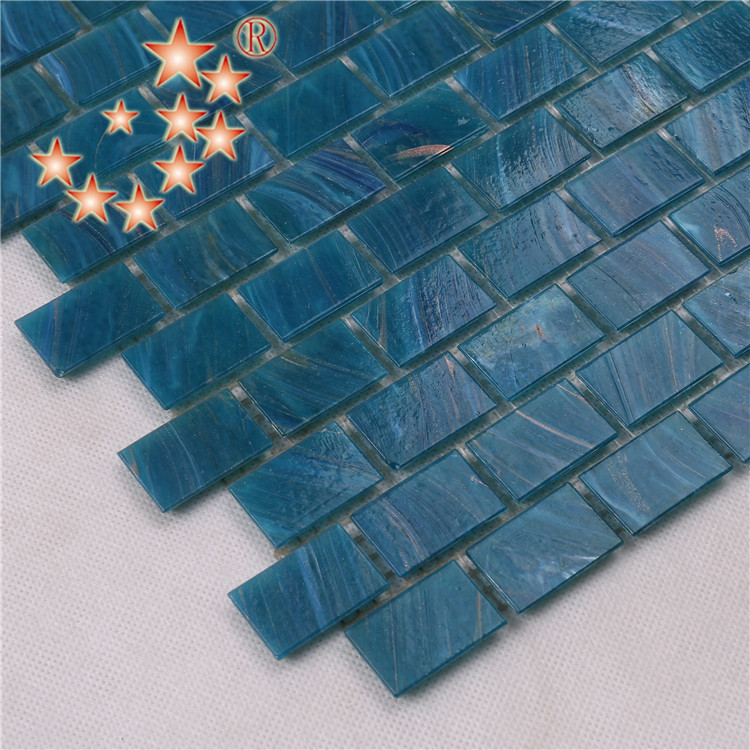 Heng Xing-Manufacturer Of Blue Green Glass Tile Swimming Pool Mosaic Tile-3