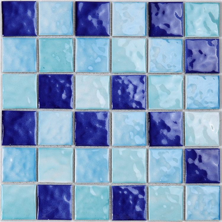 Heng Xing-Pool Glass Tile Blue Green Glass Tile Manufacture - Hengsheng-3