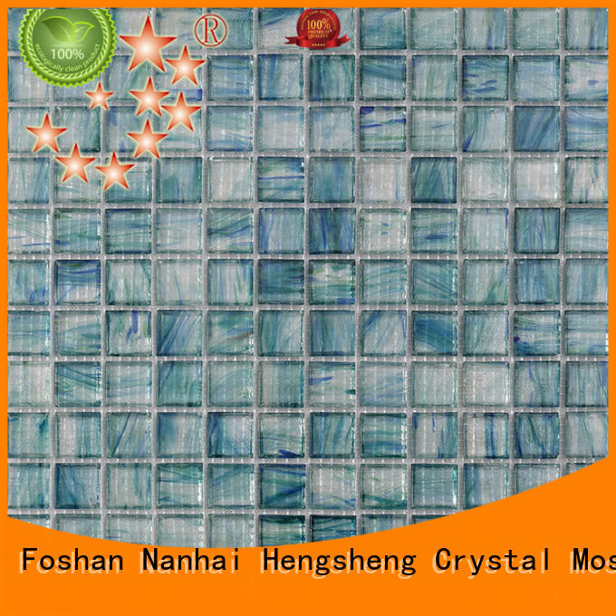 Heng Xing 2x2 decorative pool tile mosaic for spa