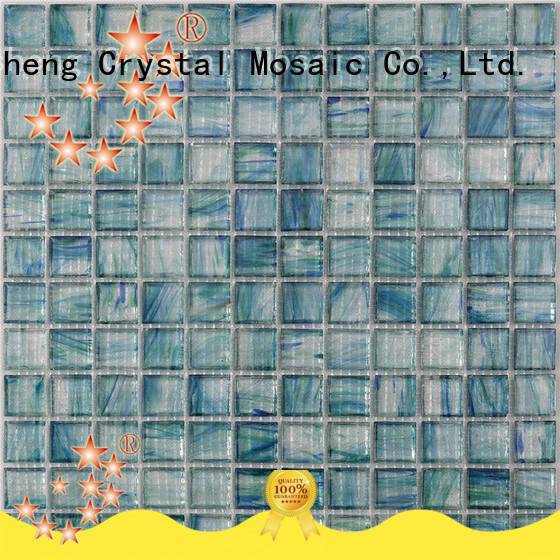 Heng Xing surround slate mosaic tile factory for spa