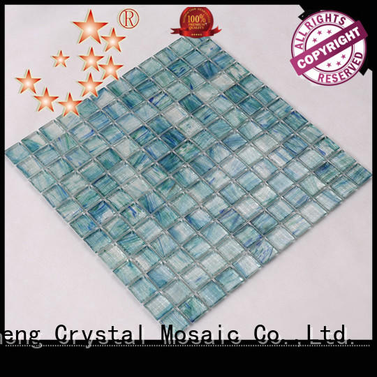 hqt04 pool glass tile supplier for spa Heng Xing