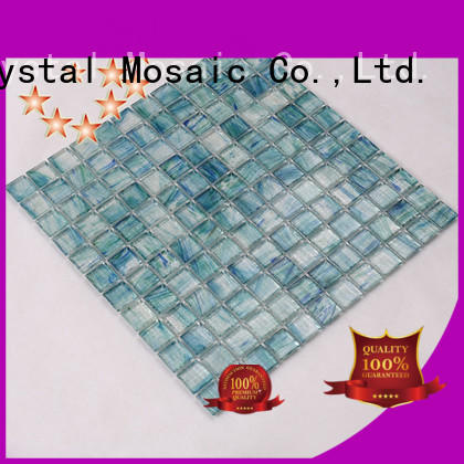 painted glass mosaic tiles for swimming pool wholesale for swimming pool