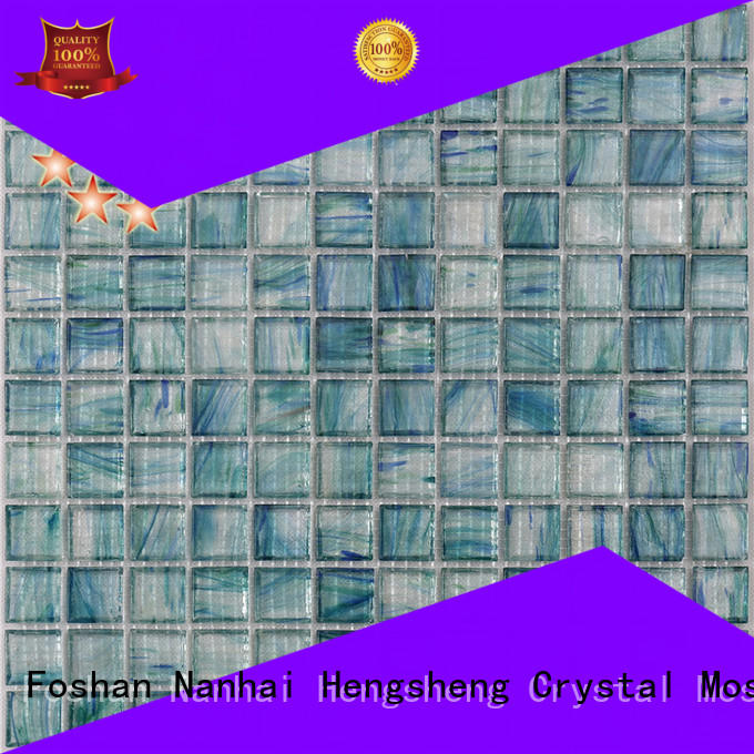 Heng Xing luxury copper mosaic tiles factory for bathroom