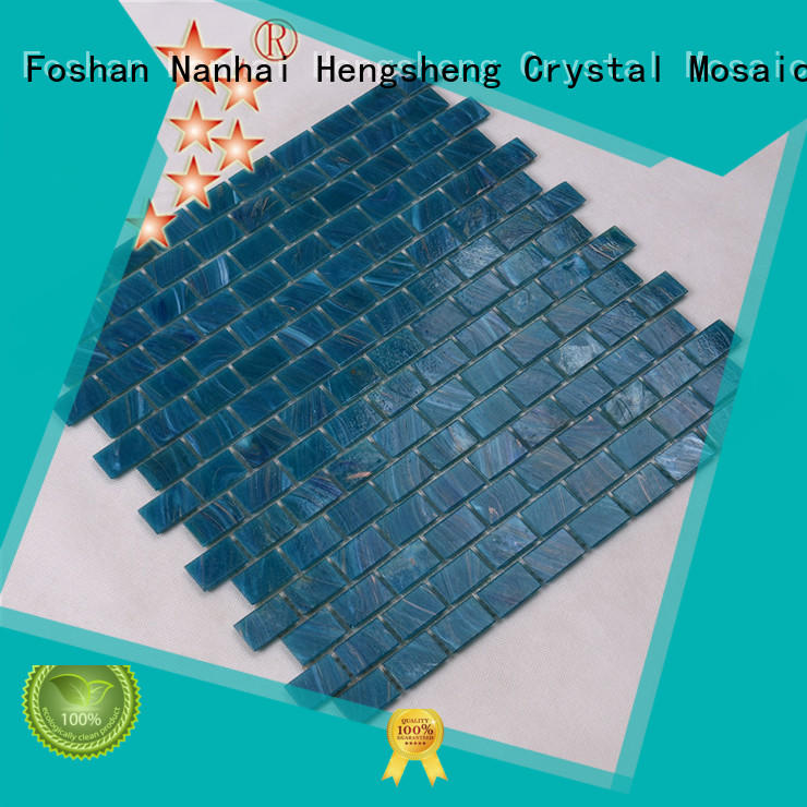 painted pool tiles prices supplier for fountain Heng Xing