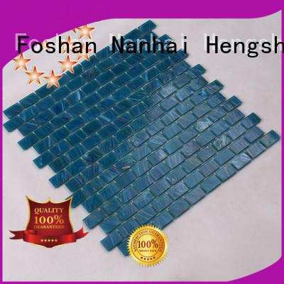 Heng Xing luxury grey pool tiles sale for bathroom