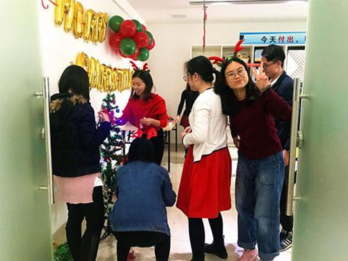 Heng Xing-What A Funny Christmas Party Hengsheng Glass Mosaic
