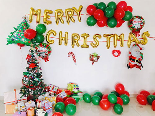Heng Xing-What A Funny Christmas Party Hengsheng Glass Mosaic-1