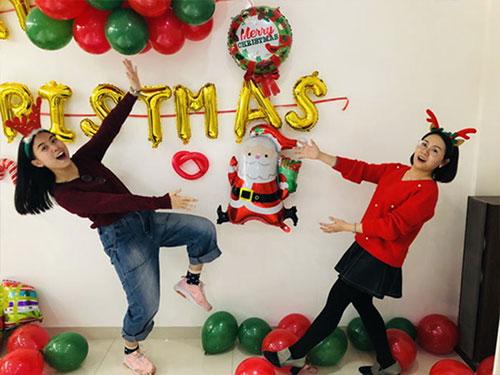 Heng Xing-What A Funny Christmas Party Hengsheng Glass Mosaic-4