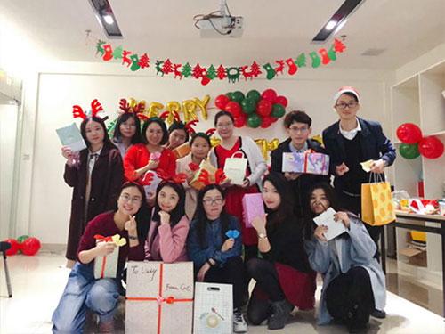 Heng Xing-What A Funny Christmas Party Hengsheng Glass Mosaic-5