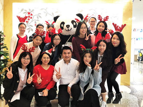 Heng Xing-What A Funny Christmas Party Hengsheng Glass Mosaic-7