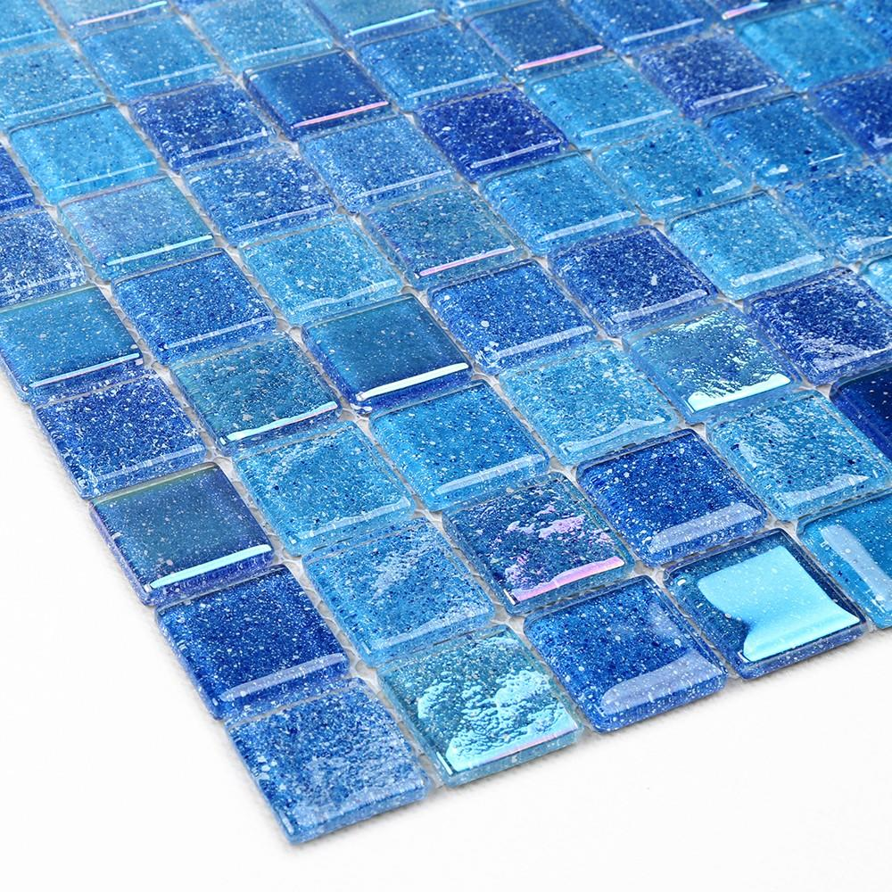 Heng Xing Latest light blue glass tile factory for hotel-4