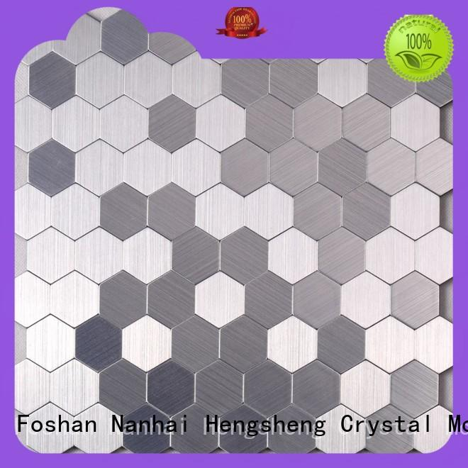 Heng Xing certificated beige mosaic tiles Supply for kitchen