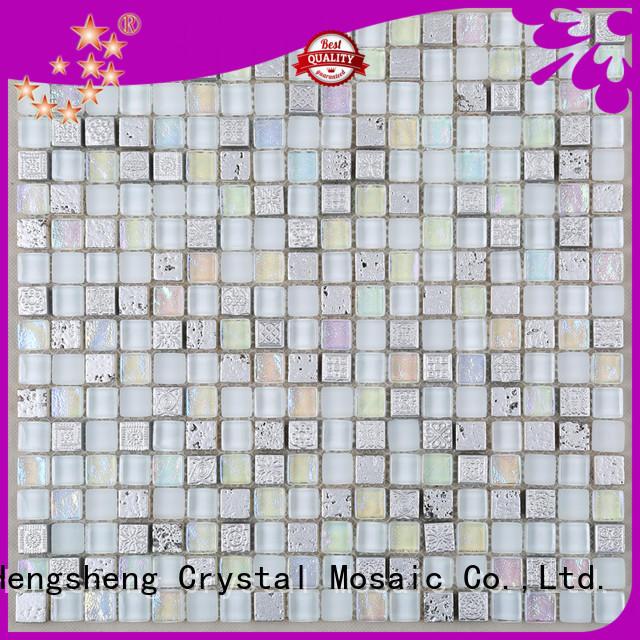 Heng Xing hdt04 arabesque tile Supply for living room
