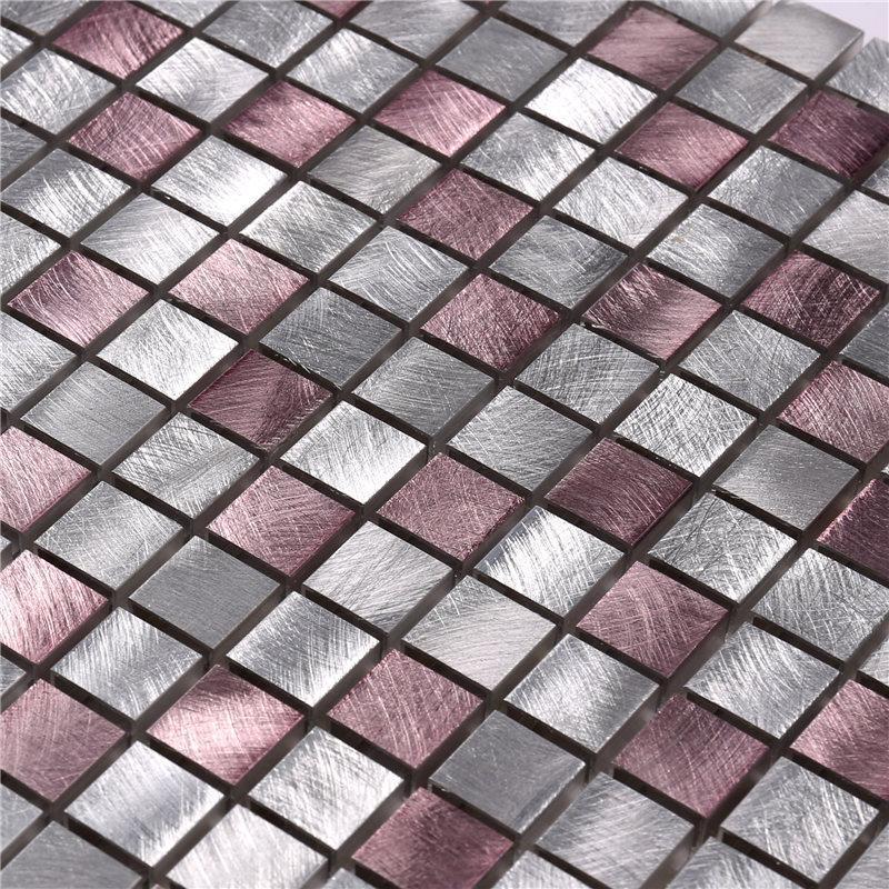 New glass mosaic hexagon customized for bathroom-2